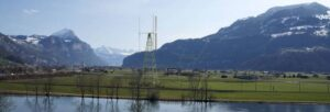 Vertical Sky A32 Fotomontage Lindthsteg